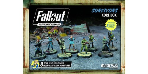 Fallout: Wasteland Warfare – Survivors Core Box