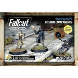 Fallout: Wasteland Warfare – Survivors: Boston Companions