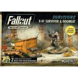 Fallout: Wasteland Warfare – X-01 Survivor & Dogmeat
