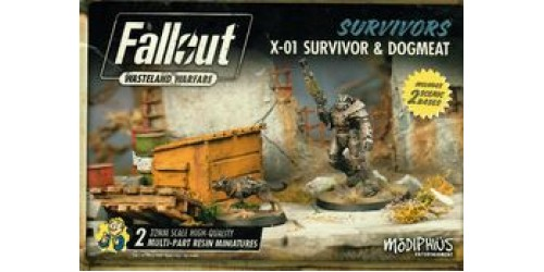 Fallout: Wasteland Warfare – X-01 Survivor & Dogmeat