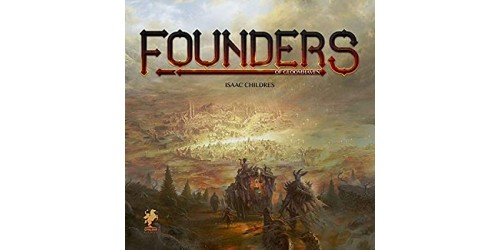 Founders of Gloomhaven + Folded space organizer