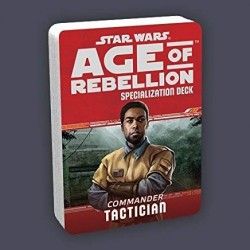 Star Wars Age of Rebellion RPG - Commander Tactician specialization deck