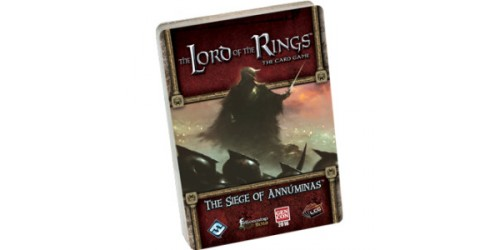 The Lord of the Rings LCG: The Siege of Annuminas (Anglais)