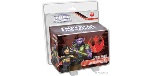 Star Wars - Imperial Assault : Sabine Wren and Zeb Orrelios Ally Pack