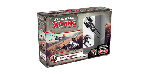 Star Wars X-Wing - Saw's Renegades Expansion Pack (En)