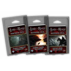 The Lord of the Rings: The Card Game - 10 NIGHTMARE DECKS BUNDLE