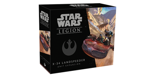 Star Wars Legion : X-34 Landspeeder Unit Expansion