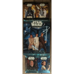 Star Wars TCG - BUNDLE: 1 starter + 4 decks