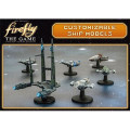 Firefly The Board Game - Customizable Ship Models * OPEN BOX *