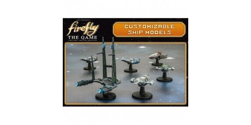 Firefly The Board Game - Customizable Ship Models