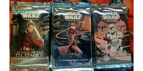 Star Wars TCG - Attack of the Clones booster pack