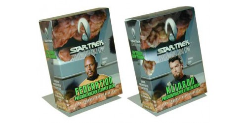 Star Trek CCG - 2 Trouble with Tribbles Starter Decks (Klingon + Federation)