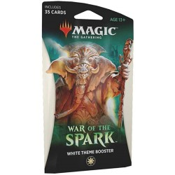 Magic The Gathering - War of the Spark WHITE theme booster (anglais)