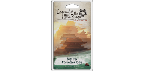 Legend of the Five Rings: The Card Game - Into the Forbidden City Dynasty Packs