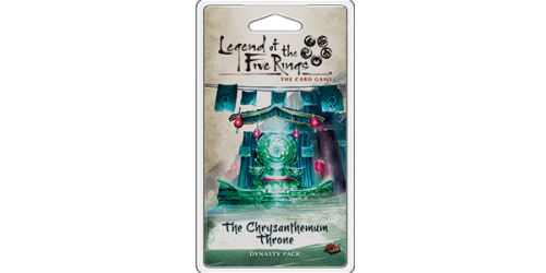 Legend of the Five Rings: The Card Game - The Chrysanthemum Throne Dynasty Packs