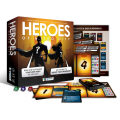 Heroes of Metro City + Sidekicks and Storyline expansion Bundle - Open Box
